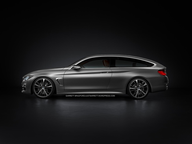 bmw 4 series concept Shooting Brake