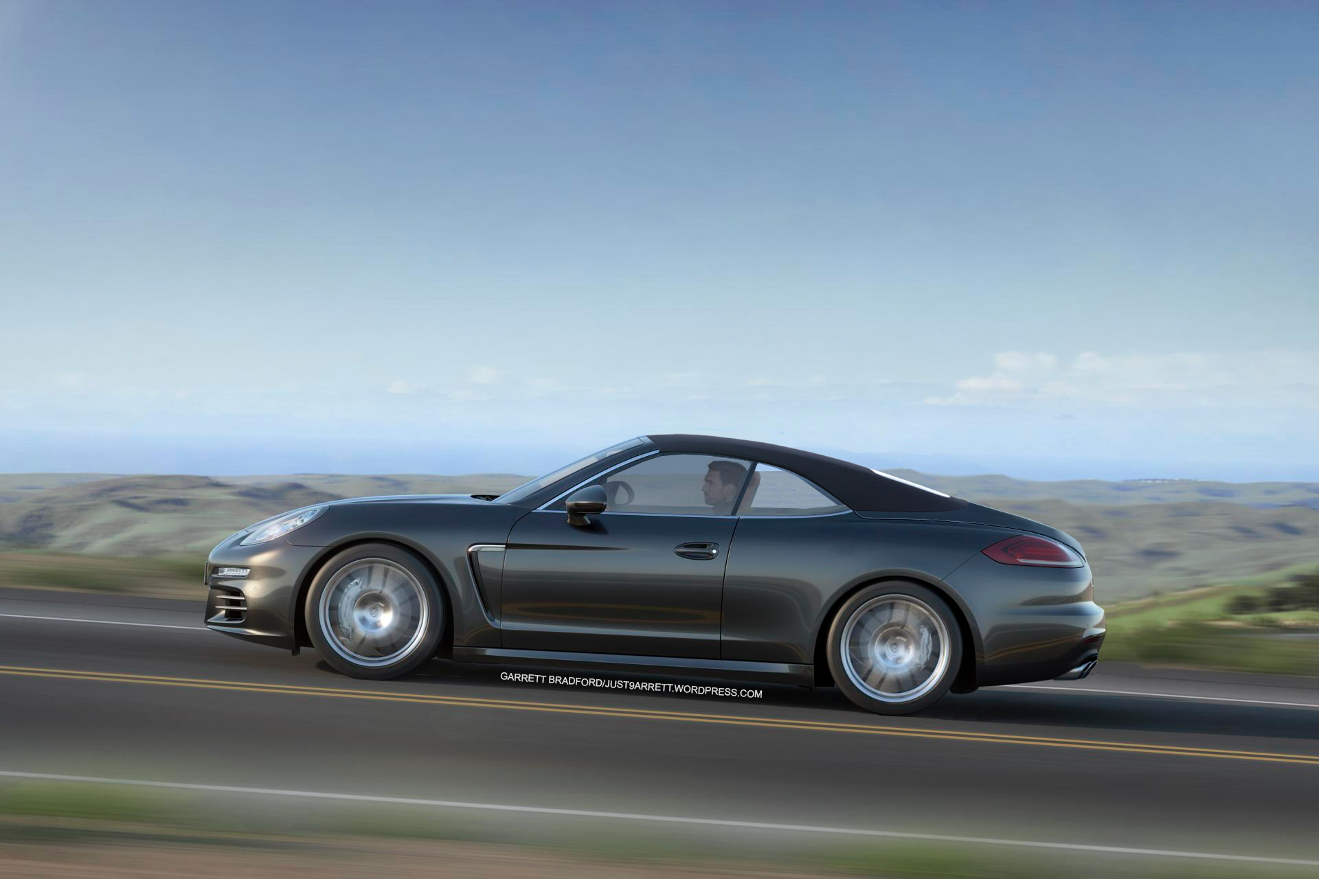 2014 Porsche Panamera Estate Shooting Brake And Convertible