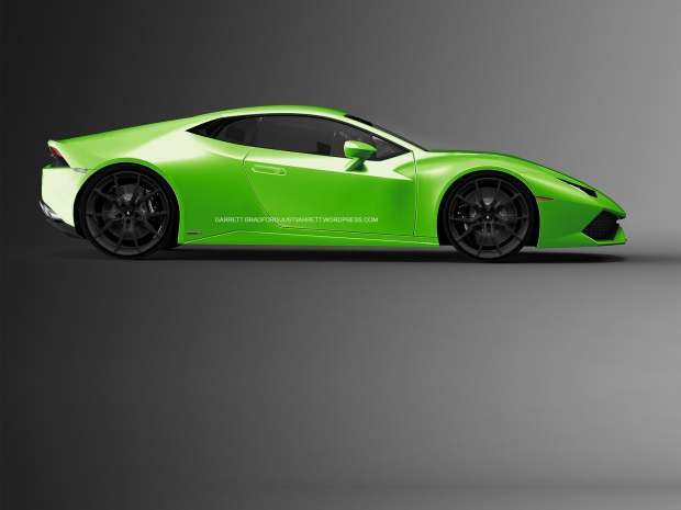 Lamborghini Huracan Front engined