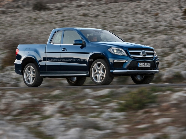 MERCEDES-BENZ GL550 PICKUP