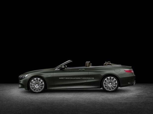Mercedes-Benz-S-Class_CABRIOLET TOP DOWN